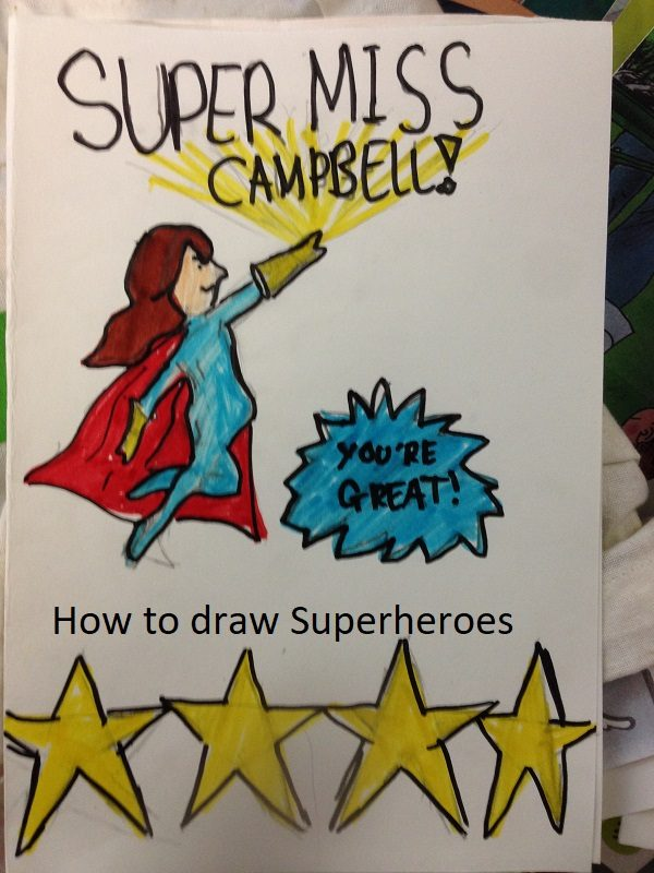 A superherp teachers card