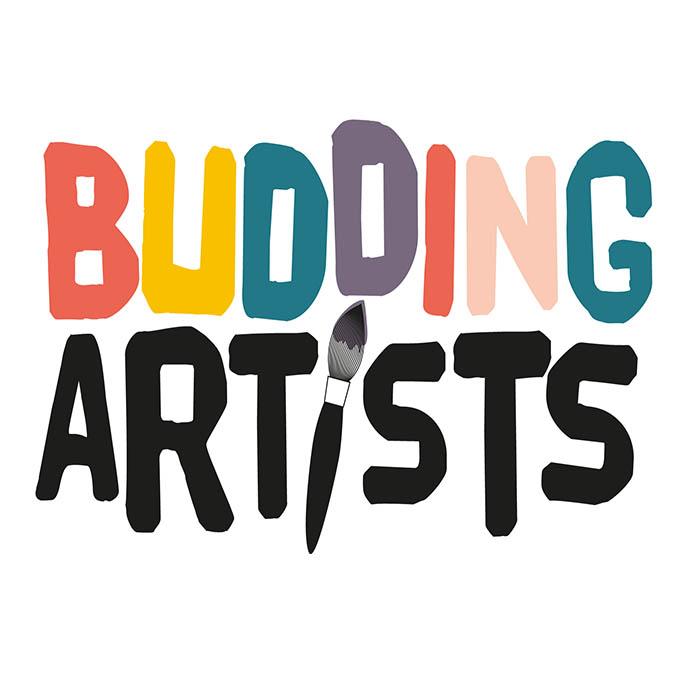 budding artists logo square