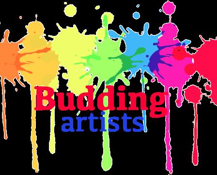 budding artists logo