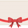 gift card image with re bow