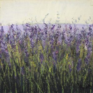 painting of Carshalton lavender