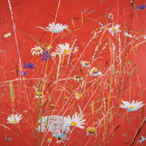 Oaks Park Meadow – (80cm by 80cm)