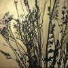 abstract botanical gold painting 60x60cm