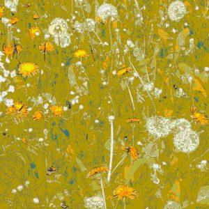 Dandelion Print (Mustard)
