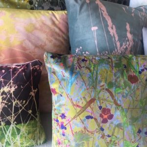 variety of different cushions