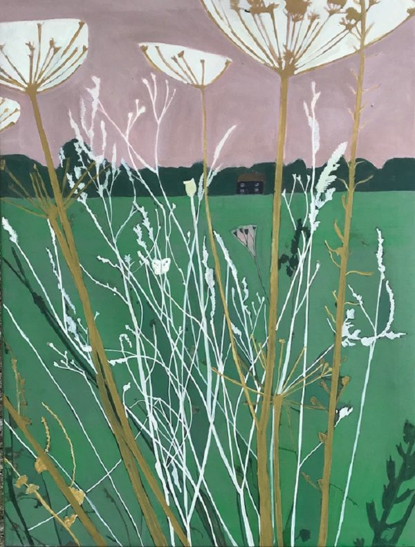 Seedheads in Carshalton Beeches