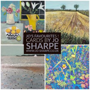 art greeting cards - 4 of Jo's favourite paintings and botanical prints