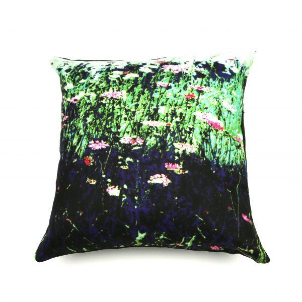 My bespoke pink and green cushion