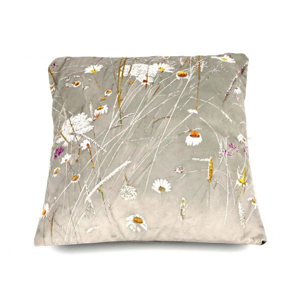 wild flowers art cushion