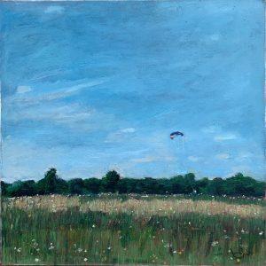 Kite Flying in Oaks Park