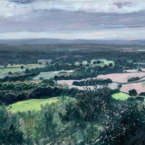 View from Leith Hill, Surrey Painting