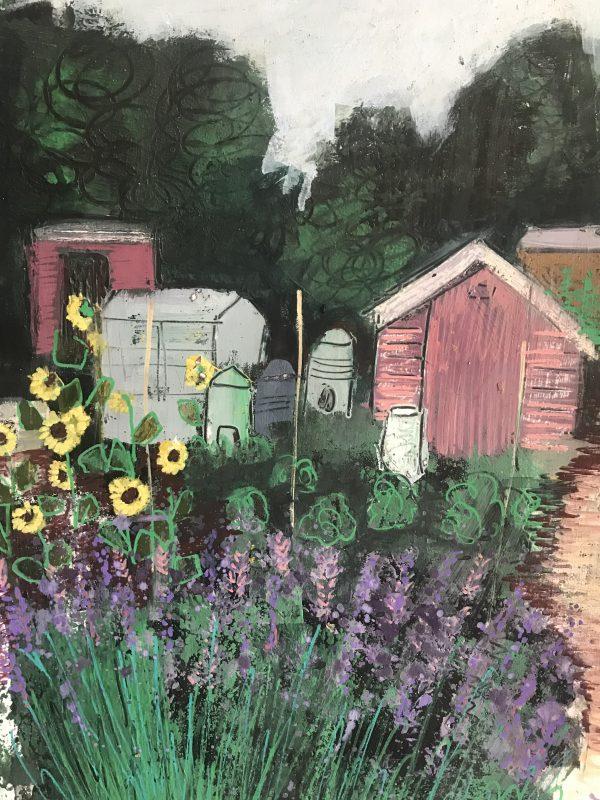 Carshalton Lavender fields Art