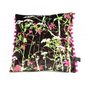 Cow Parsley Plum Cushion ( available to order in other colours)