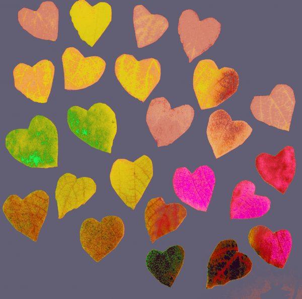 Mauve Heart Design